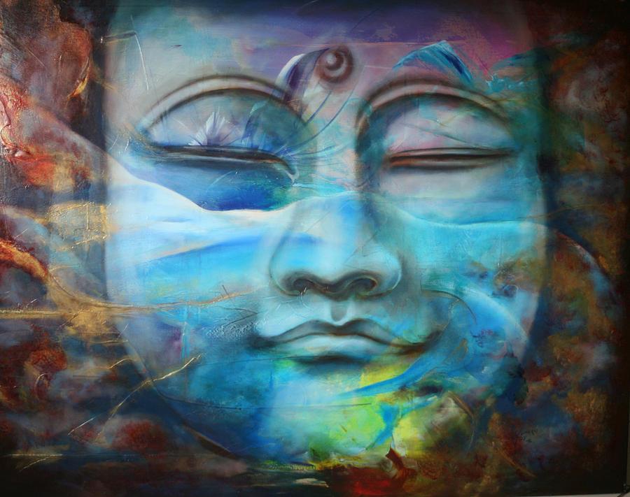 Bodhisatva Painting by Chez Jumaqui