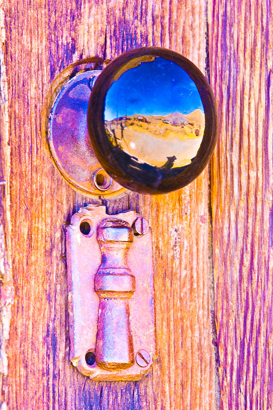 Bodie Photograph - Bodie - Door Hardware by Eric Moss