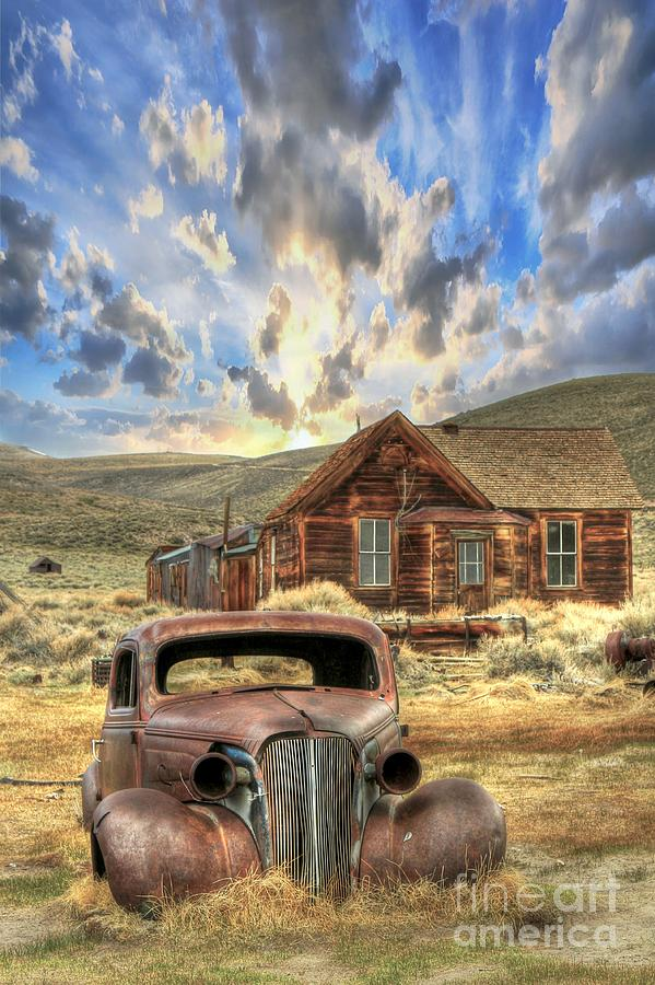 Bodie California Photograph - Bodie Ghost Town by Benanne Stiens