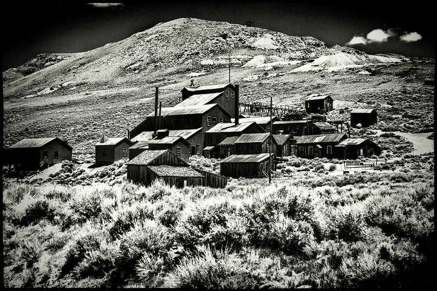 Bodie Ghost Town Mine Ruins Photograph