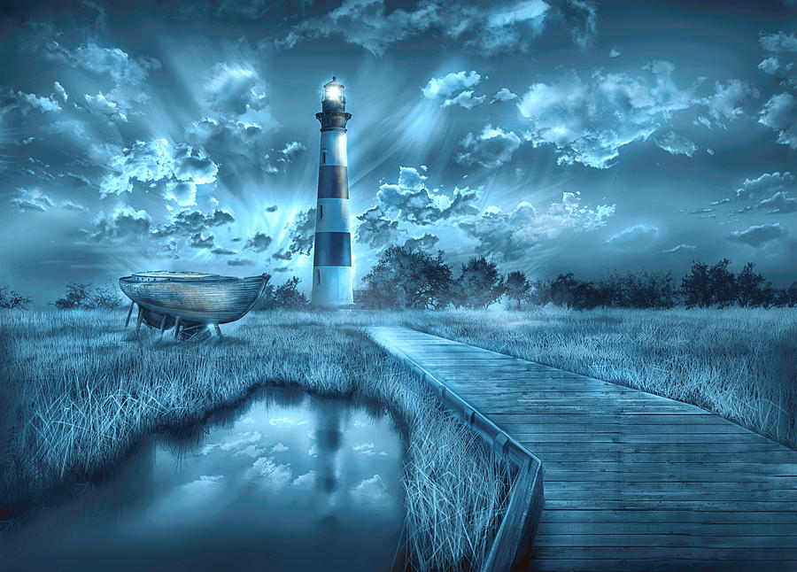 Lighthouse Paintings Pictures