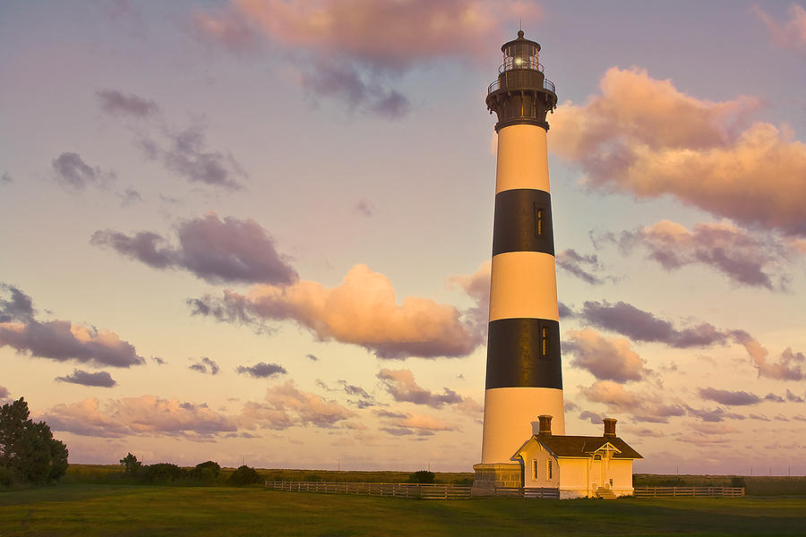 Bodie Island Lighthouse by Ken Barrett