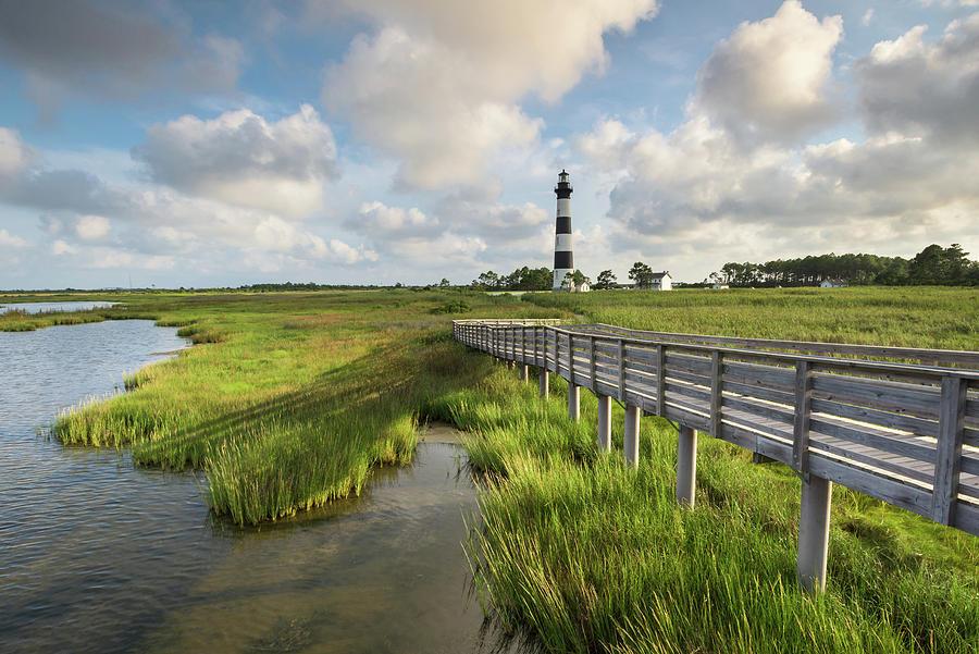 Beacon Photograph - Bodie Island Lighthouse North Carolina by Mark VanDyke