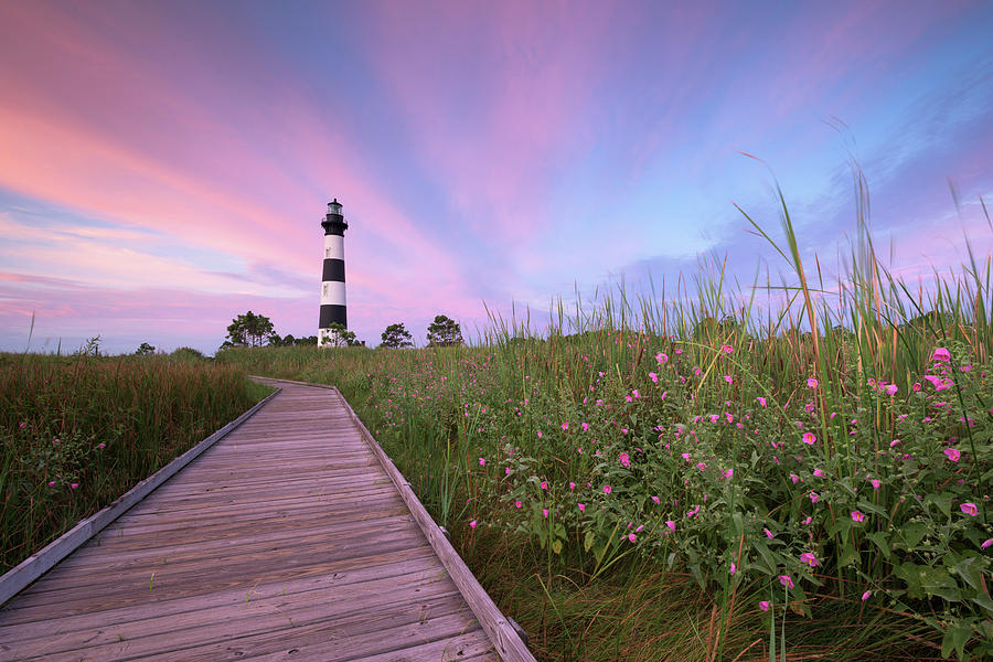 August Photograph - Bodie Island Obx Sunrise by Mark VanDyke