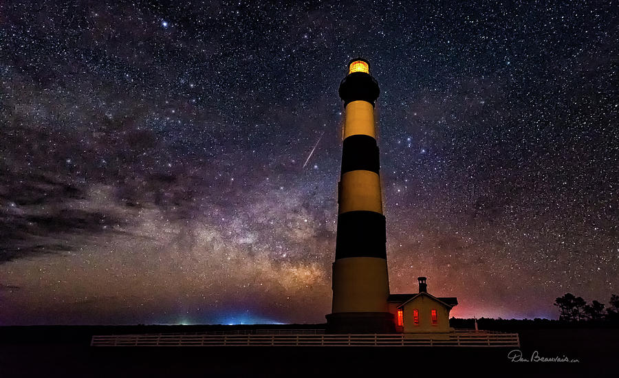 Bodie Light And Galactic Core 4994 Photograph