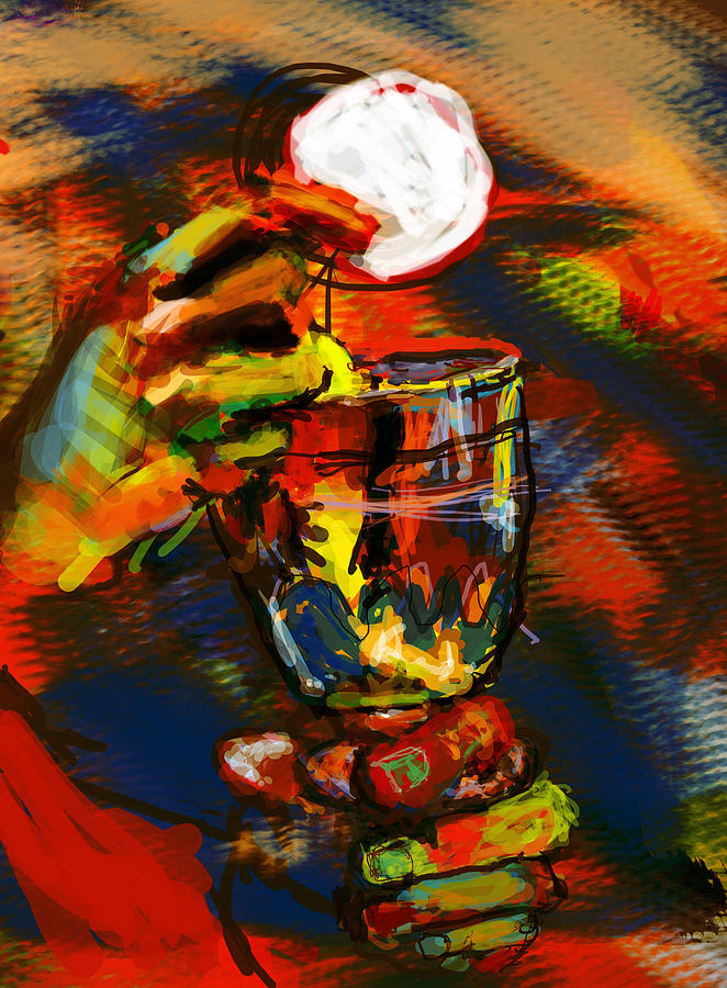 Eucharist Digital Art - Body And Blood by James Thomas