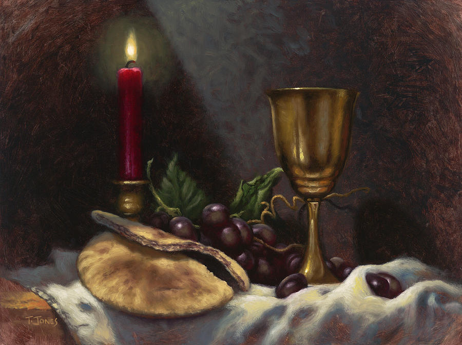 Christian Painting - Body And Blood by Timothy Jones