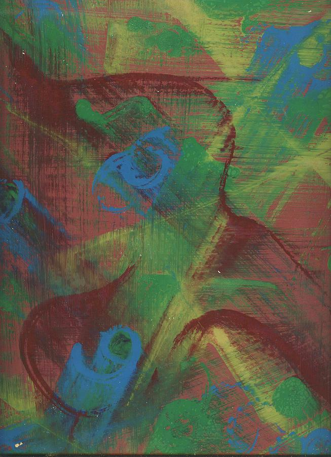 Abstract Painting - Body Fusion by Cathy Minerva