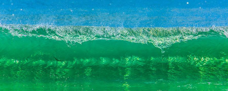 Gods Creation Photograph - Body Surfing by Paula Porterfield-Izzo