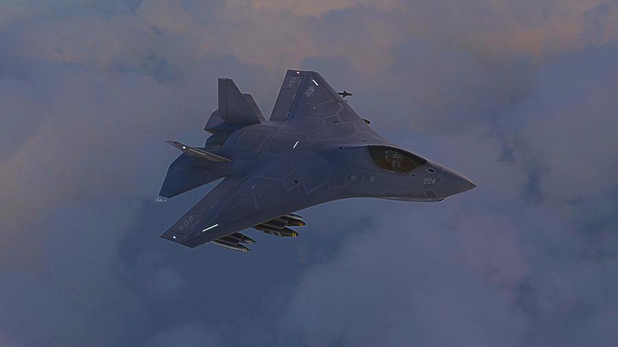 Boeing Digital Art - F-32 Joint Strike Fighter by Hangar B Productions