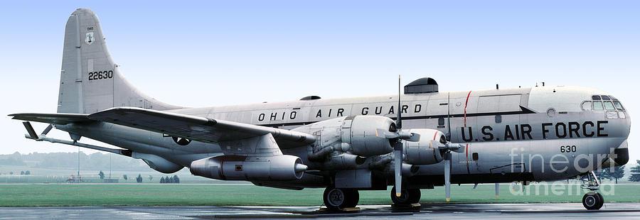 Air Force Photograph - Boeing Kc-97l Stratotanker 22630, Dayton Ohio by Wernher Krutein