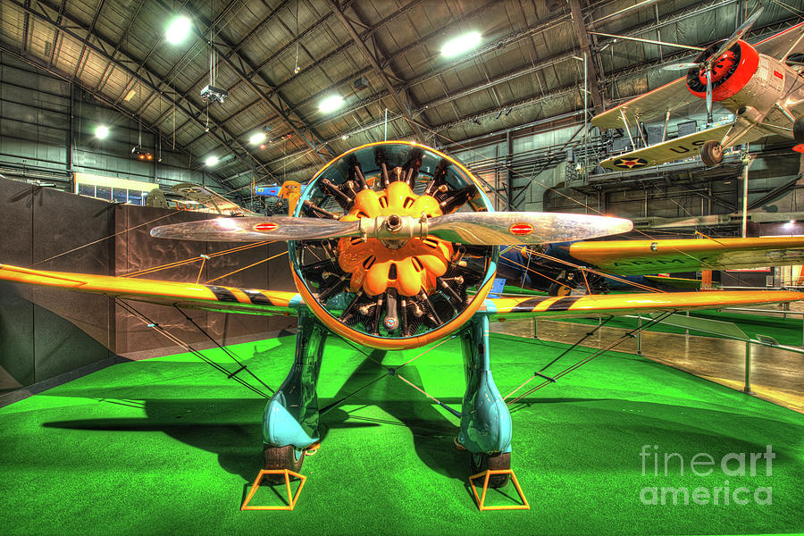Nose Photograph - Boeing P-26a by Greg Hager