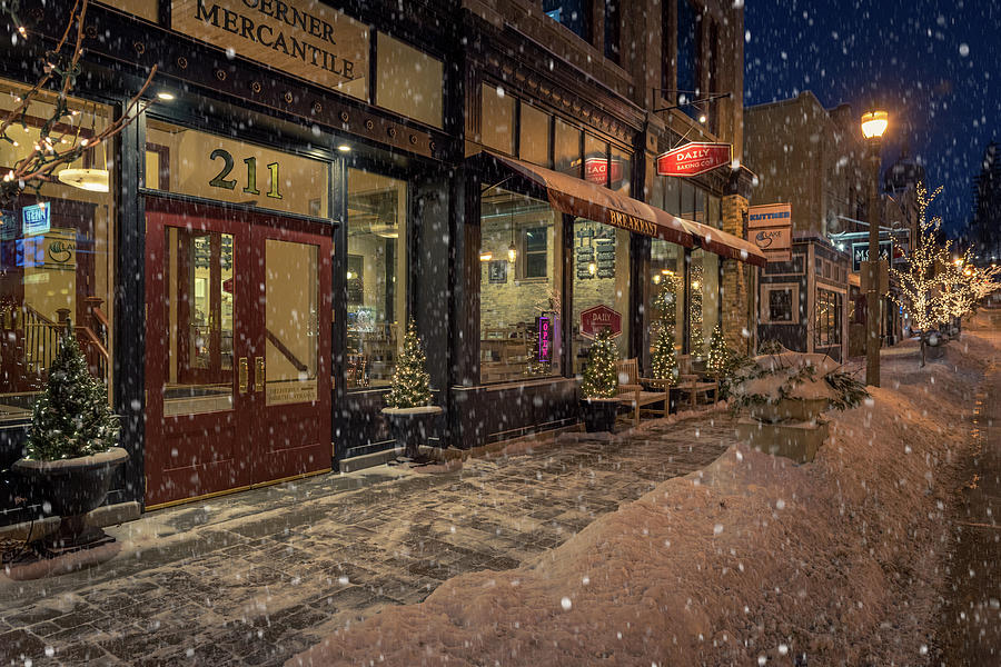 Boerner Mercantile Christmas by James Meyer