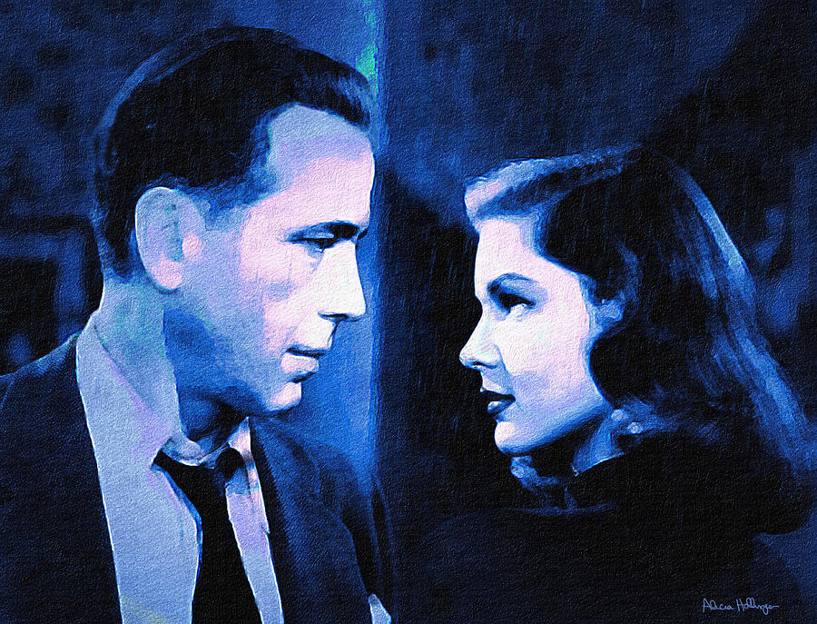 Bogart and Bacall - The Big Sleep by Alicia Hollinger