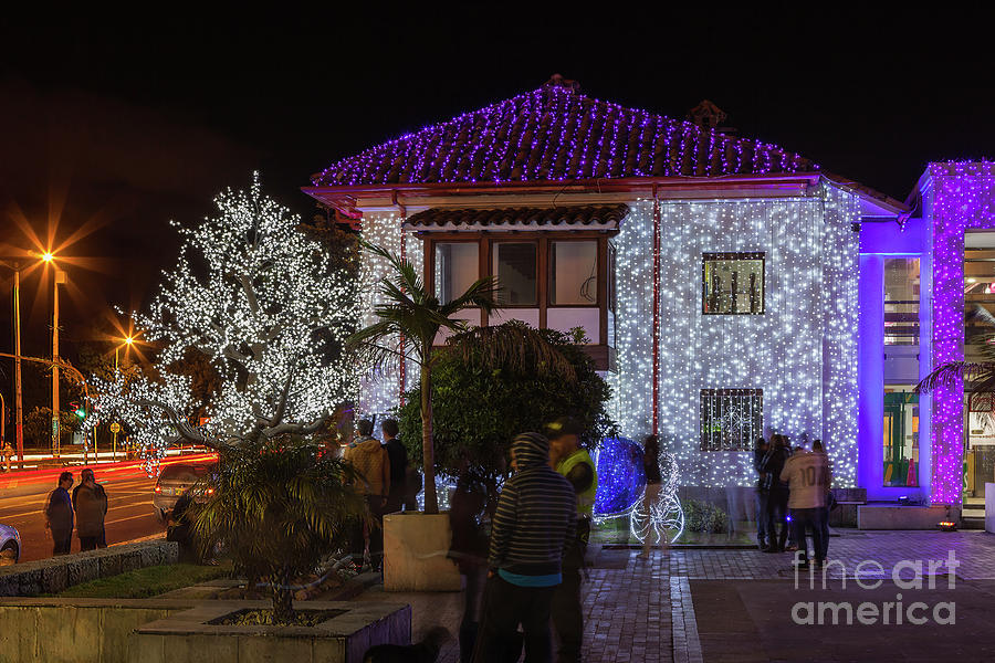 Christmas In Colombia South America.Bogota Colombia In South America Christmas Lights By Devasahayam Chandra Dhas