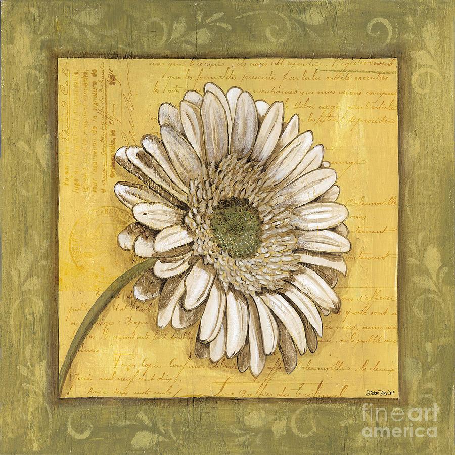 Daisy Painting - Bohemian Daisy 1 by Debbie DeWitt