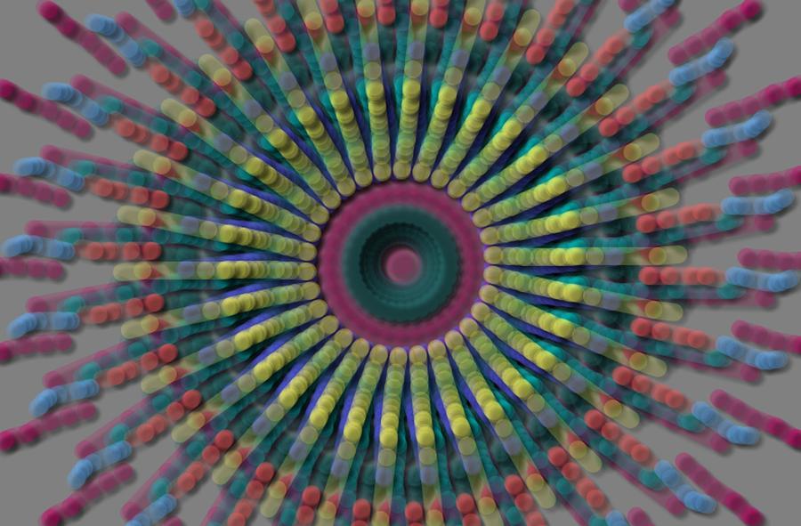 Colorful Digital Art - Boho Baby  by Lisa Peaslee