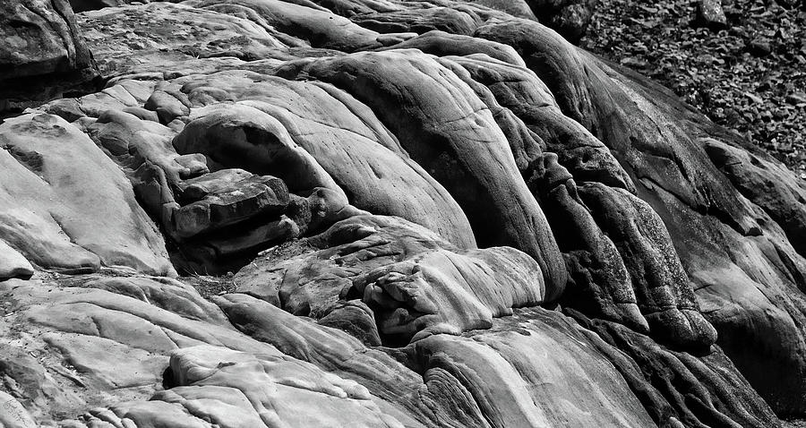Rock Photograph - Boiled Boulders by Rick Lawler