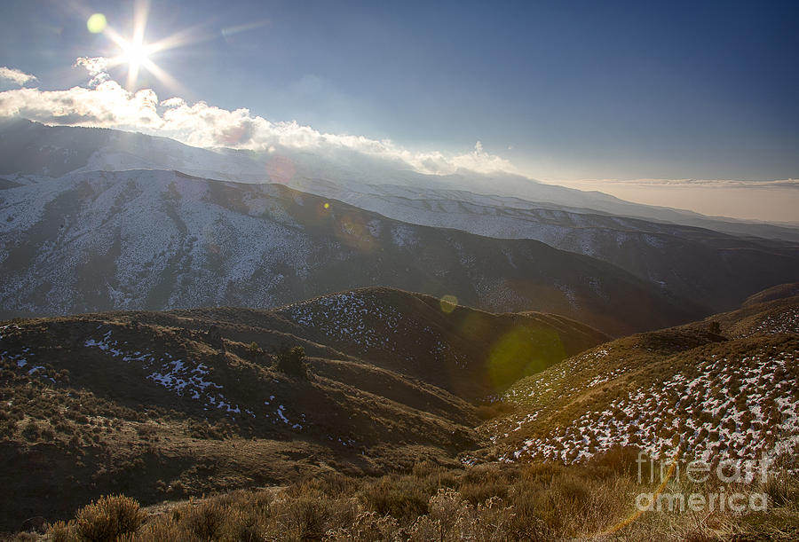 Boise Photograph - Boise Ridge by Idaho Scenic Images Linda Lantzy
