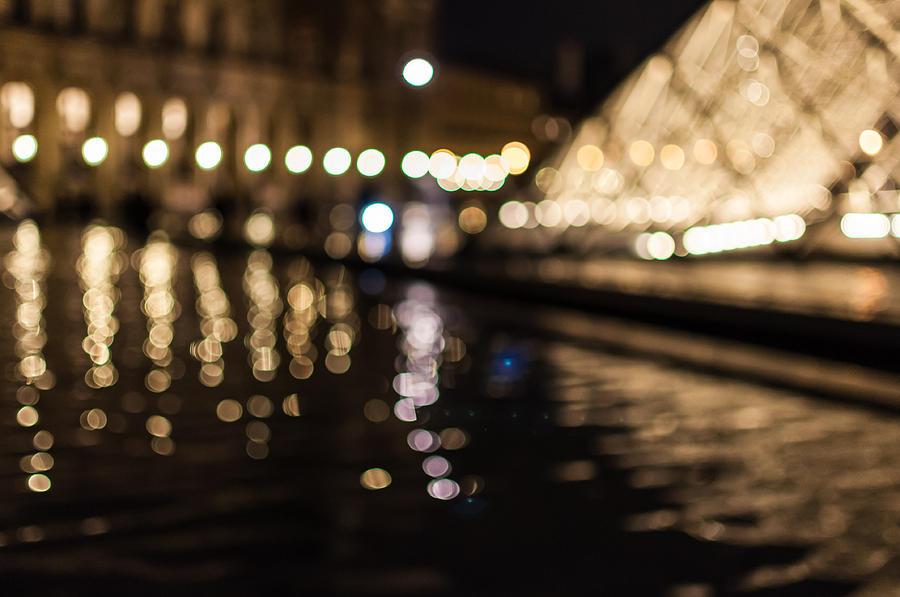 Bokeh Louvre Photograph