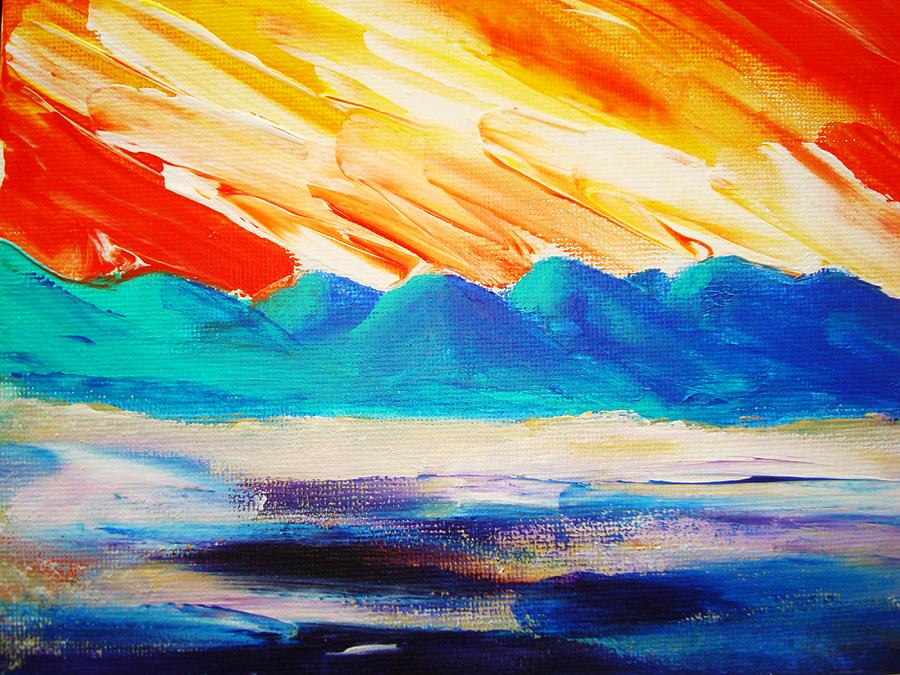 Bright Painting - Bold Day by Melinda Etzold