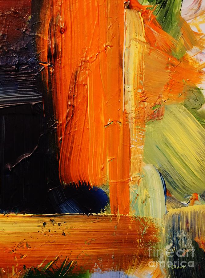 Abstract Painting - Bold by John Clark