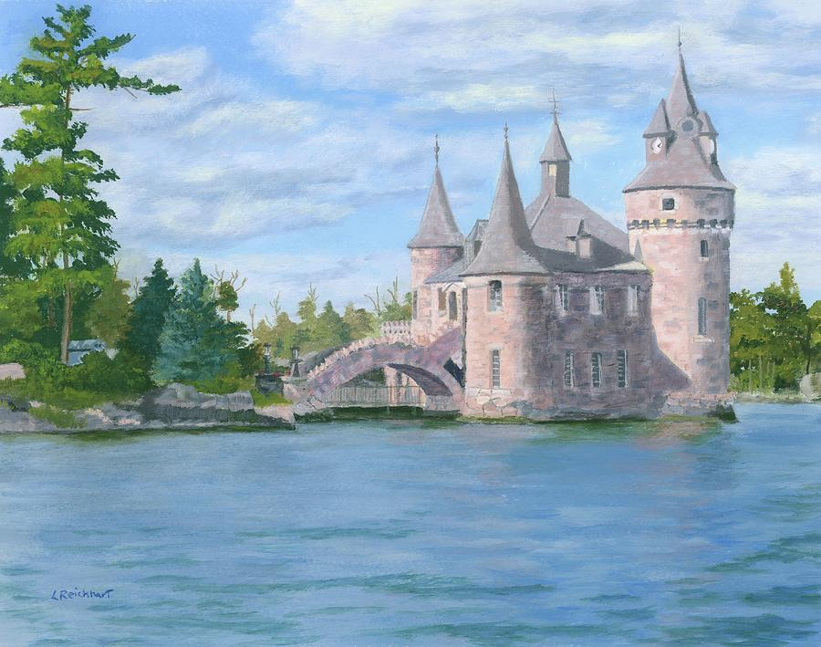 Boldt Castle Painting - Boldts Power House by Lynne Reichhart