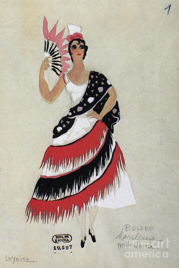 1941 Photograph - Bolero Costume by Granger