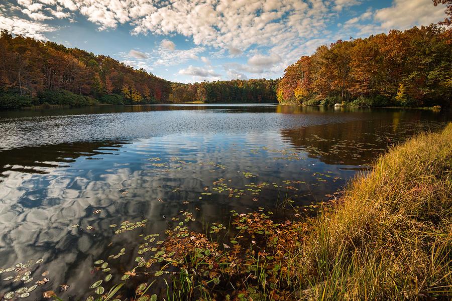 Boley Lake Babcock State Park by Rick Dunnuck