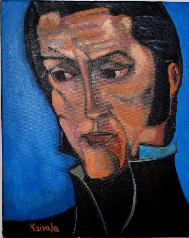 Portrait Painting - Bolivar by William Kairala