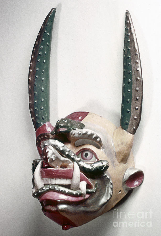 Artifact Photograph - Bolivia: Native Mask by Granger