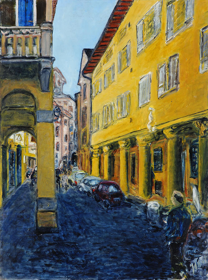 Bologna Galeria Painting by Joan De Bot