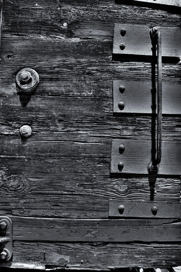 Wood Photograph - Bolted Wood by Scott Wyatt