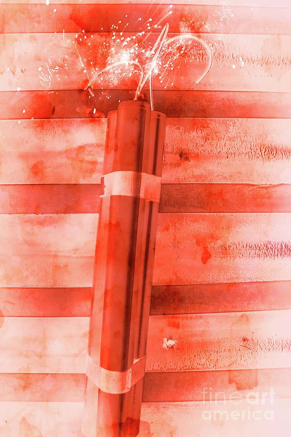 Bomb Photograph - Bomb Of The Betrayal by Jorgo Photography - Wall Art Gallery