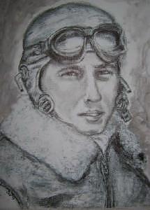 Portrait Print - Bombadier by Suzanne Reynolds
