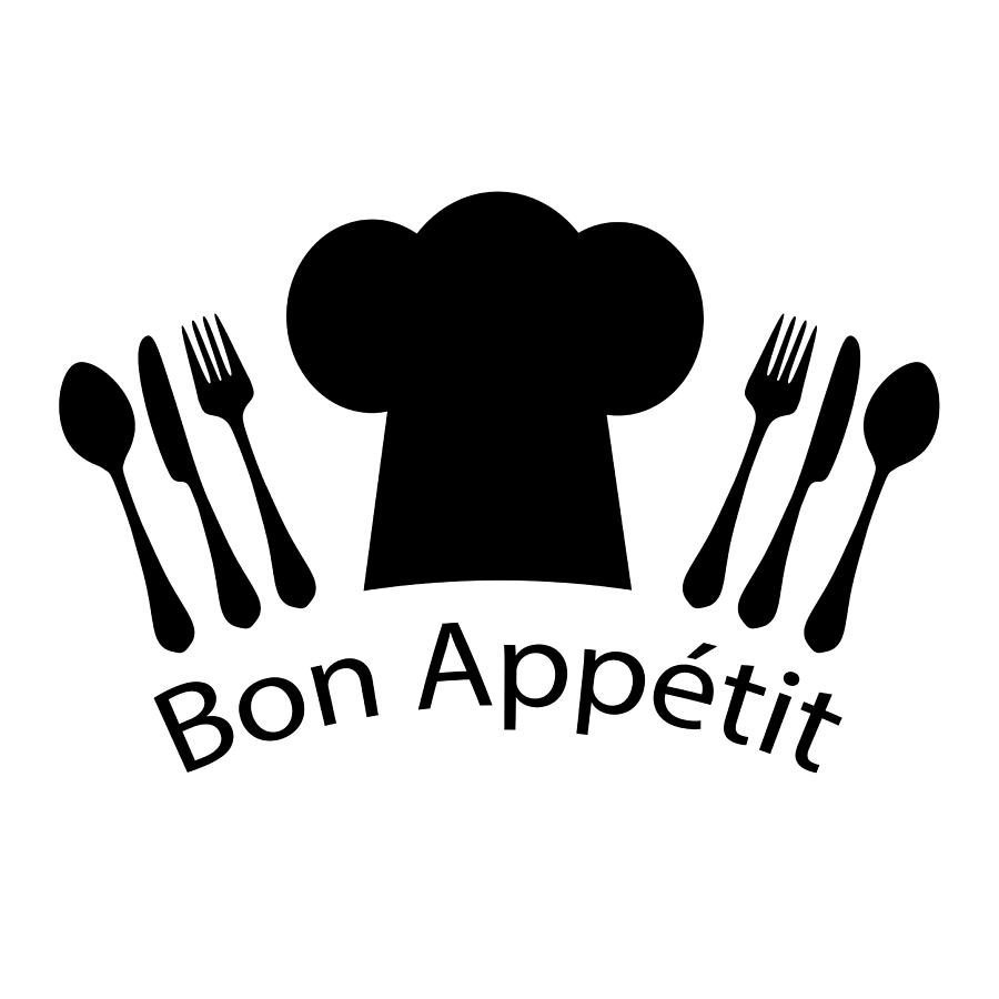 French Digital Art - Bon Appetit French Chef by Antique Images