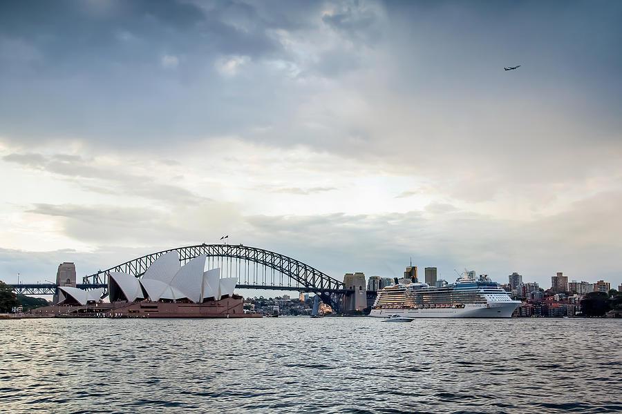 Sydney Photograph - Bon Voyage by Az Jackson