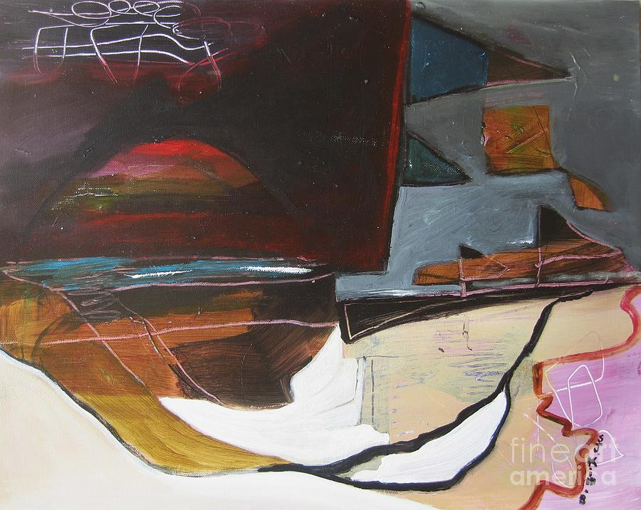 Bonavista At Dusk Painting by Seon-Jeong Kim