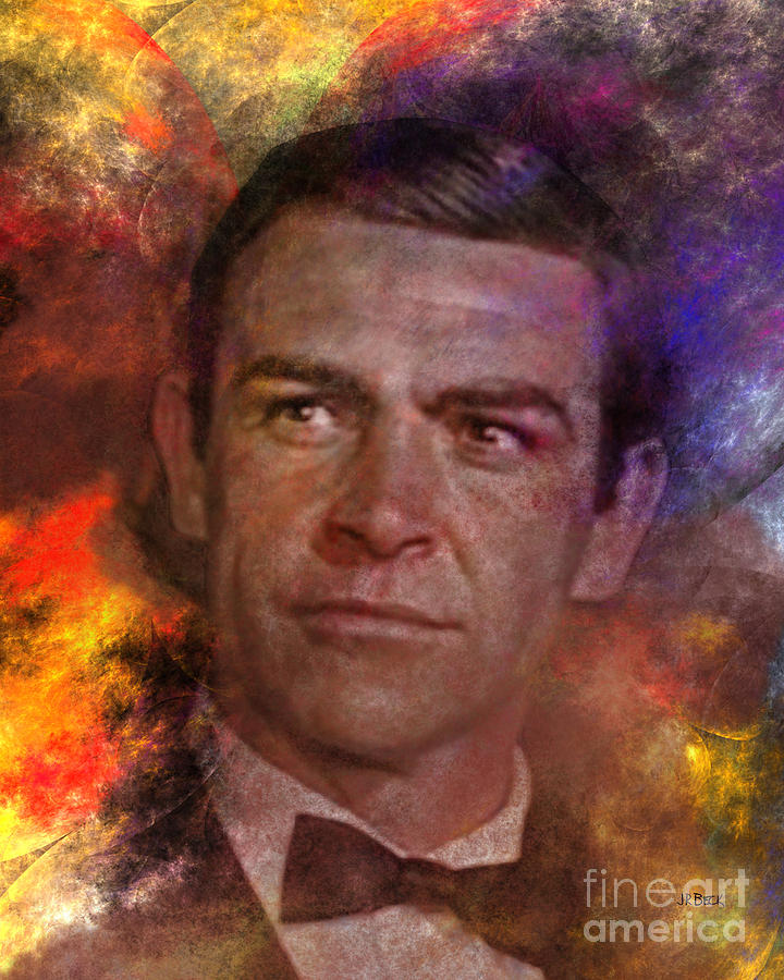 James Bond Digital Art - Bond - James Bond by John Beck