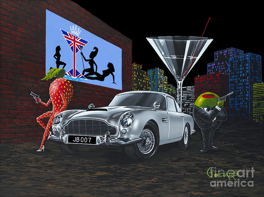 Sexy Painting - Bond by Michael Godard