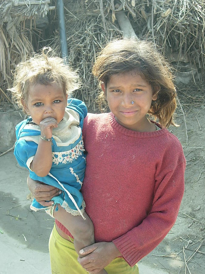 Children Photograph - Bond Of Love 2 by Karuna Ahluwalia