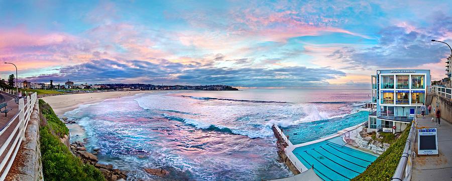 Sydney Photograph - Bondi Beach Icebergs by Az Jackson