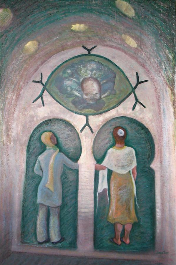 Muslim Painting - Bondye Imamou by Barbara Nesin