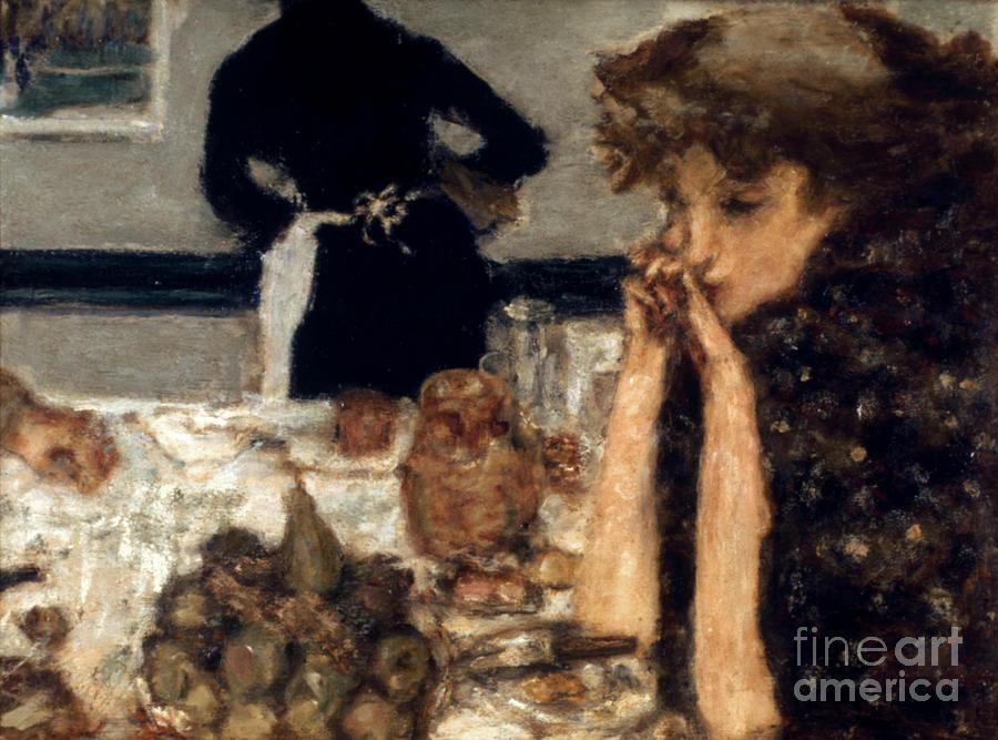 1899 Photograph - Bonnard: Breakfast, C1899 by Granger