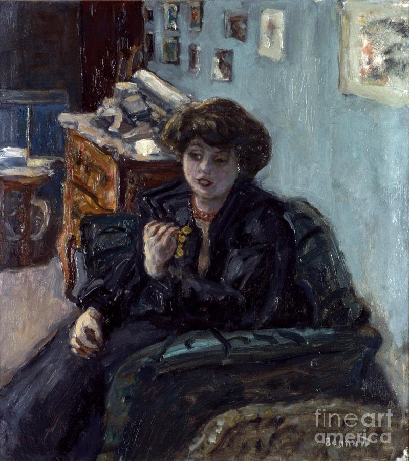 19th Century Photograph - Bonnard: Lady, 19th C by Granger
