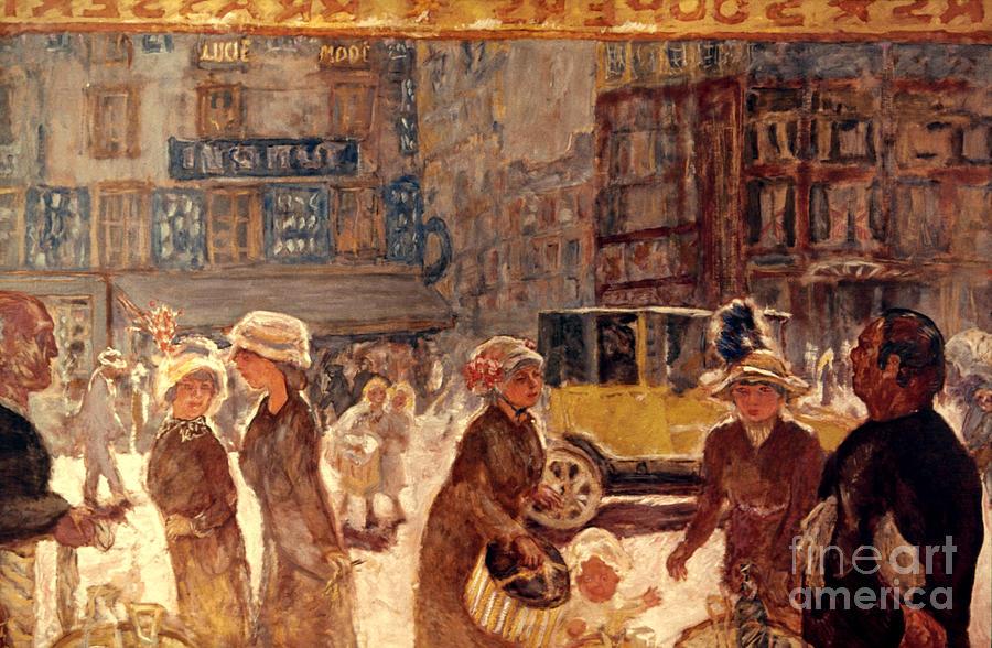 1912 Photograph - Bonnard: Place Clichy by Granger