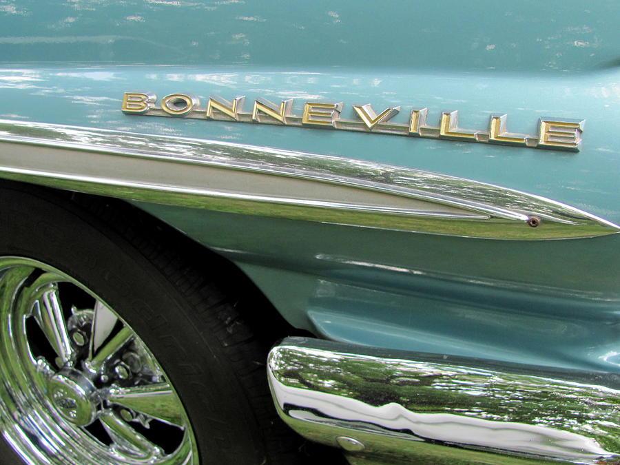 Car Photograph - Bonneville by Anita Burgermeister