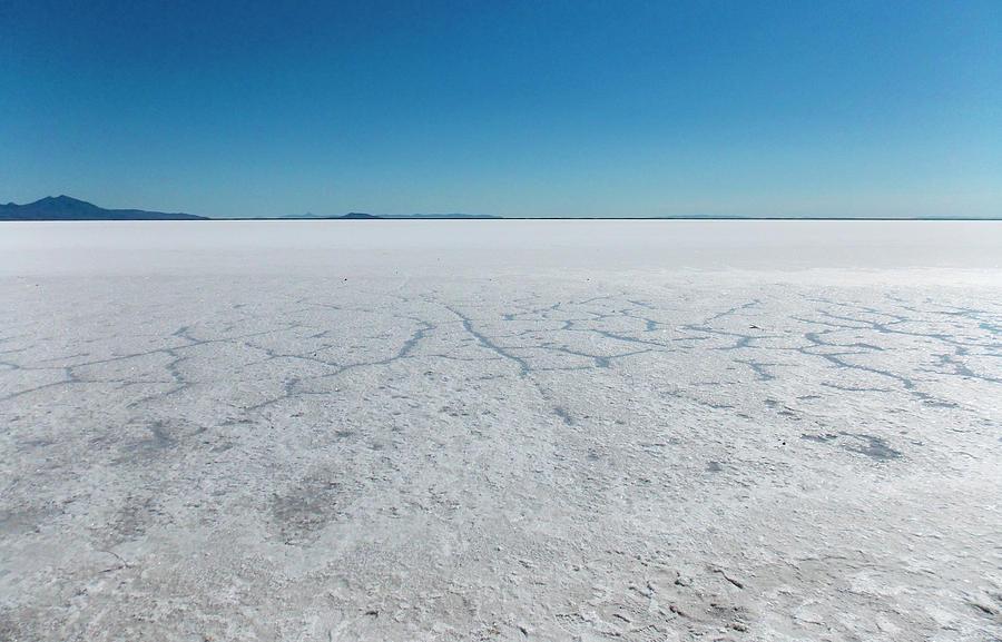 Bonneville Salt Flats Photograph - Bonneville Salt Flats by K Bradley Washburn