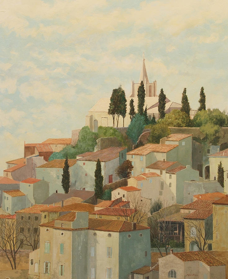 Bonnieux Vaucluse by E Colin Williams ARCA