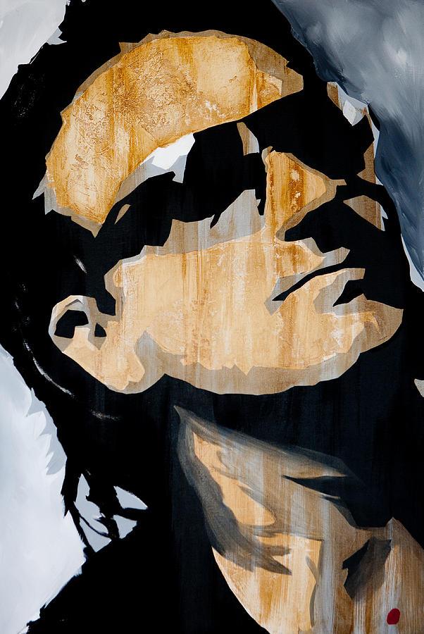 Bono Painting - Bono by Brad Jensen